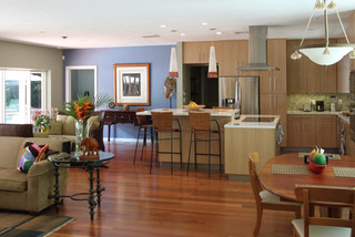 Coral Gables, FL - Modern - Kitchen - Miami - by Sharett Contracting
