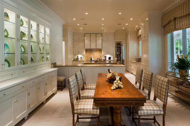 Coral Gables, Florida Home traditional-kitchen