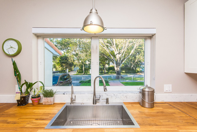 Coral Gables Whole House Remodel eclectic-kitchen
