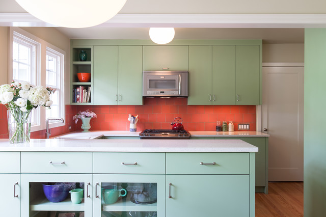 Coral + Jade Kitchen Remodel  Transitional  Kitchen  portland  by