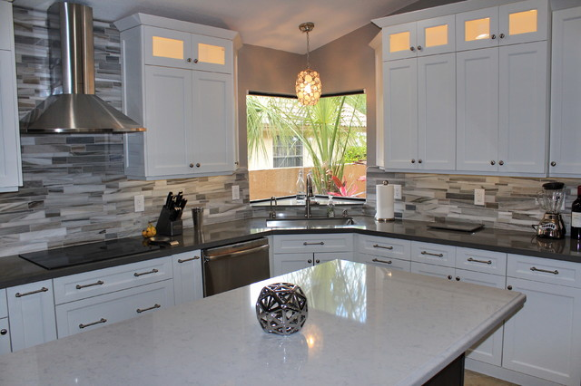 Coral Springs Kitchen transitional kitchen