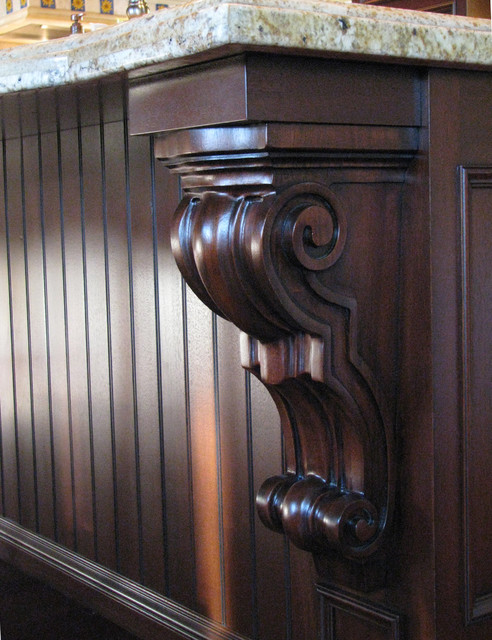 Corbel Decorative Support For Breakfast Bar Traditional
