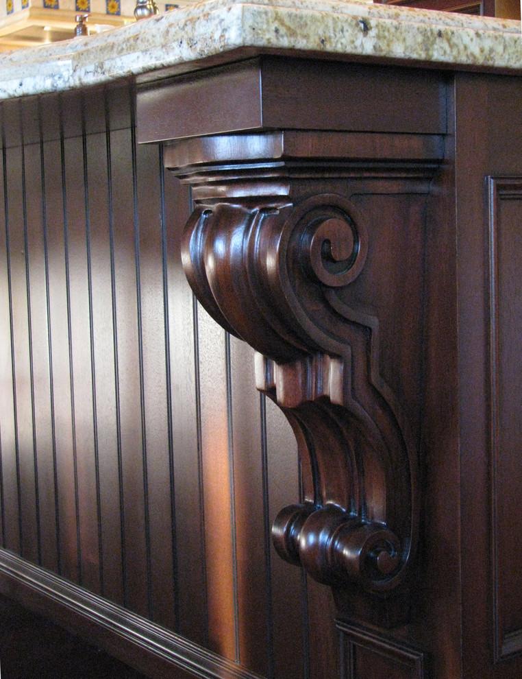 Wood Corbel Bar Bracket Support hardwood
