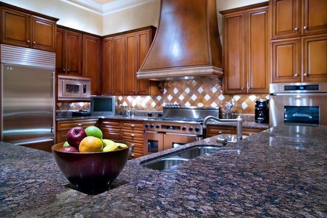 Cord Shiflet Hilltop Estate traditional-kitchen