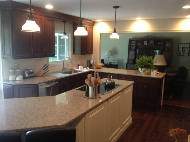 Corey Kitchen - Traditional - Kitchen - other metro - by Maumee Bay Kitchen and Bath