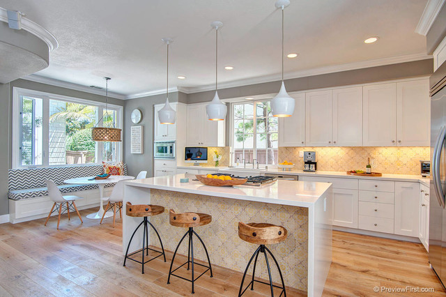 Cormier residence contemporary kitchen san diego for International home decor llc