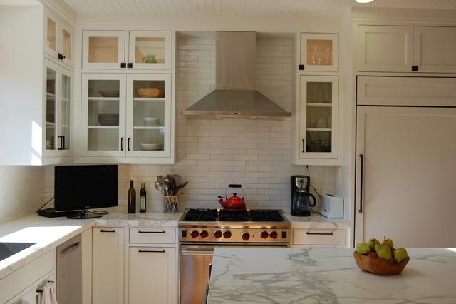 Cornelia Ave contemporary-kitchen