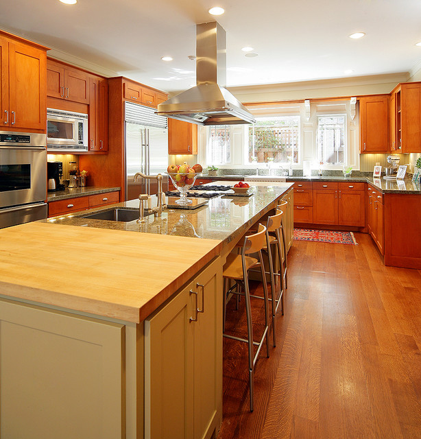 Cornell House traditional-kitchen