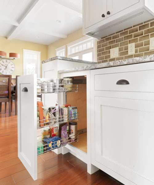 Corner Cabinet And Pullout Options That Maximize Space