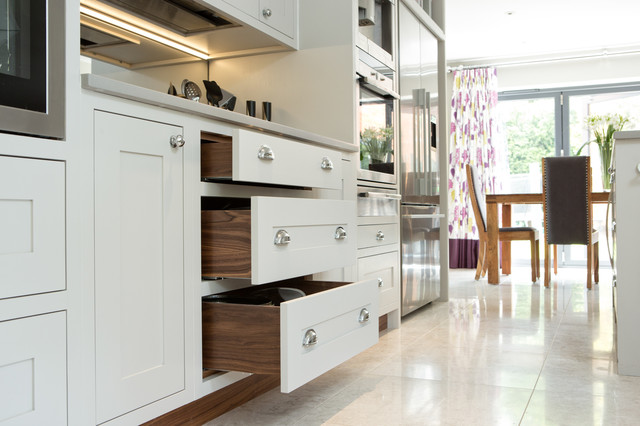 Cornforth White Shaker Kitchen Contemporary Kitchen Berkshire By Maple Gray