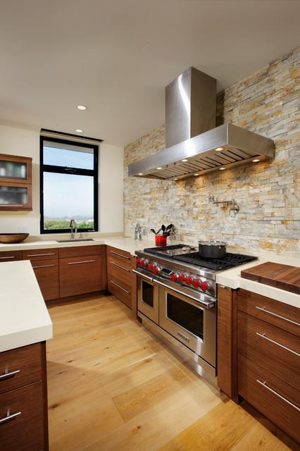 Corona Del Mar Beach Bungalow contemporary-kitchen