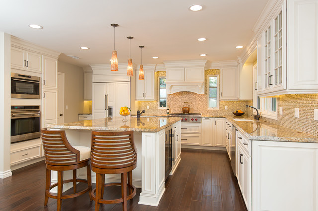 Corona del Mar Home Remodel - Transitional - Kitchen ...