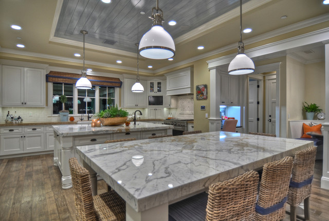 Corona del Mar traditional-kitchen