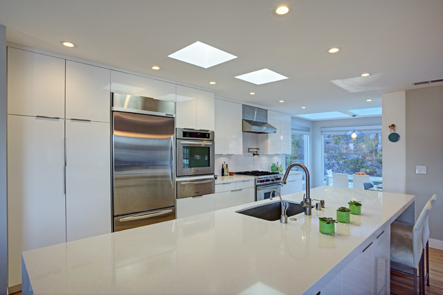 Corte madera comtemporary contemporary kitchen san for A line salon corte madera