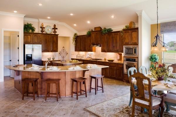 Cortona Kitchen By Sitterle Homes Traditional Kitchen