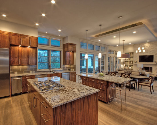 Open Floor Plan French Country Kitchen Home Design Ideas