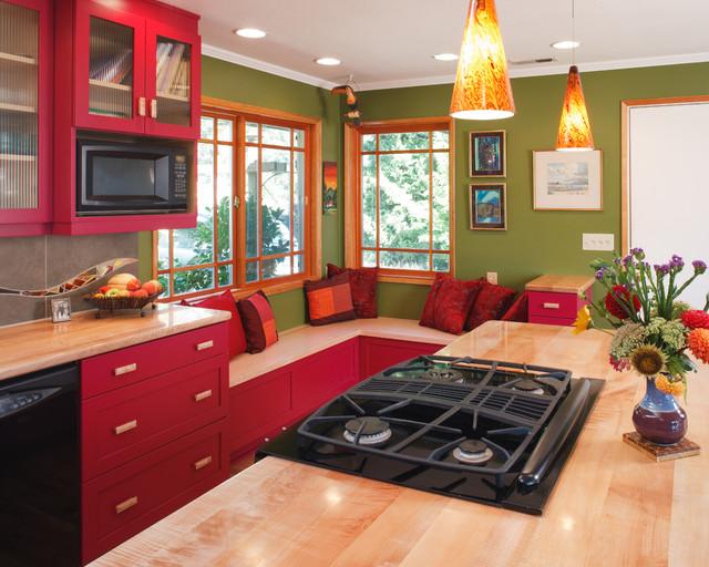 Corvallis Custom Kitchens & Baths contemporary-kitchen