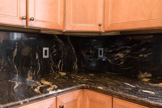 Cosmic Black Granite : Cosmic black granite traditional kitchen dc metro