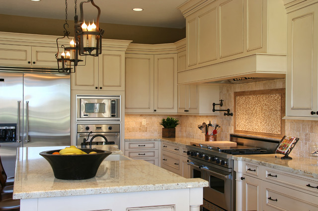 Cosmos Granite Expressions Traditional Kitchen