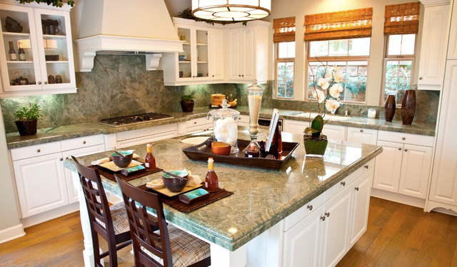 Costa Esmeralda Granite Countertopstraditional Kitchen Orange County