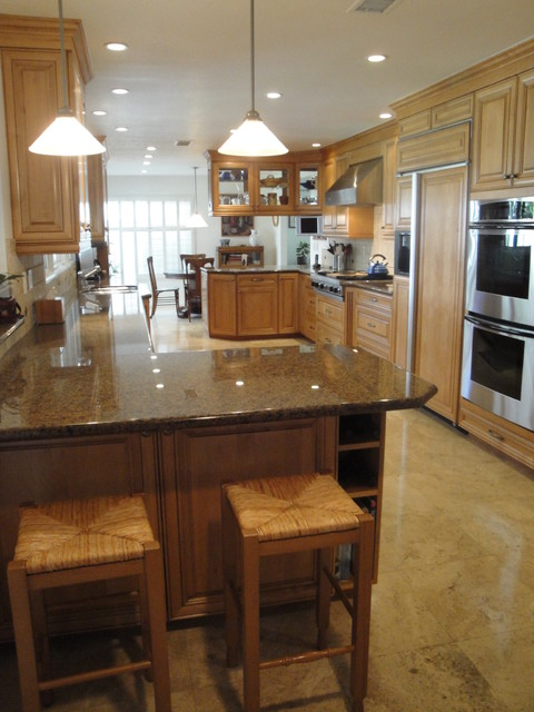 Costa Mesa Cooks Dream Kitchen Traditional Kitchen Orange County By The Kitchen Lady