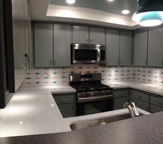 Retro Kitchen Remodel Costa Mesa, CA - Midcentury - orange county - by ...