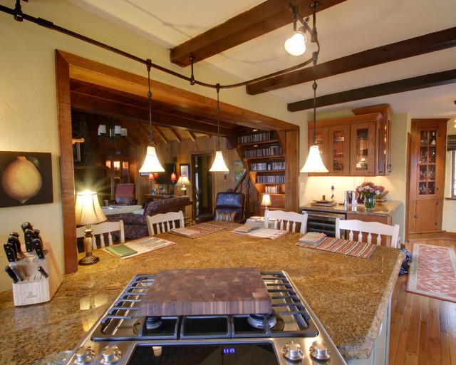 Cottage Charm: Kitchen Renovation rustic-kitchen