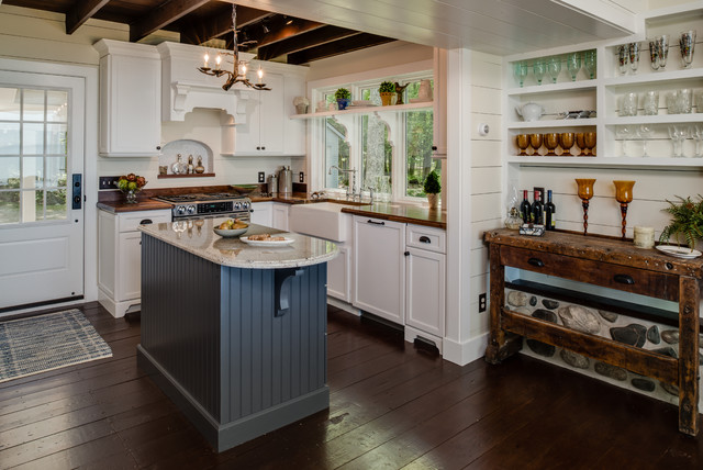 Cottage Charmrustic Kitchen Grand Rapids