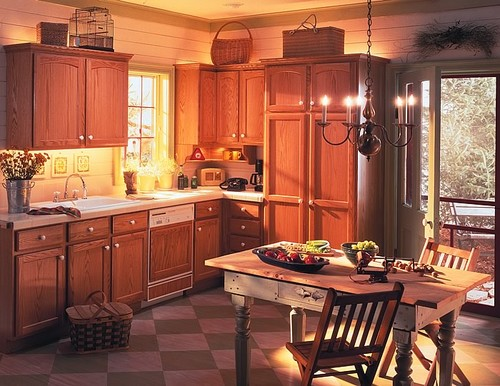 Cottage/Country Kitchen traditional kitchen