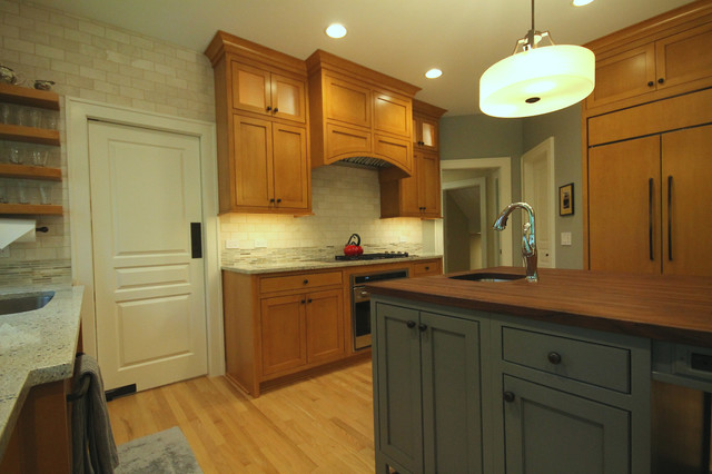 Cottage in the Woods Reno eclectic-kitchen
