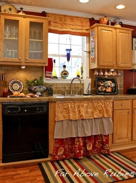 cottage kitchen eclectic kitchen atlanta by anita diaz for far above rubies. Black Bedroom Furniture Sets. Home Design Ideas