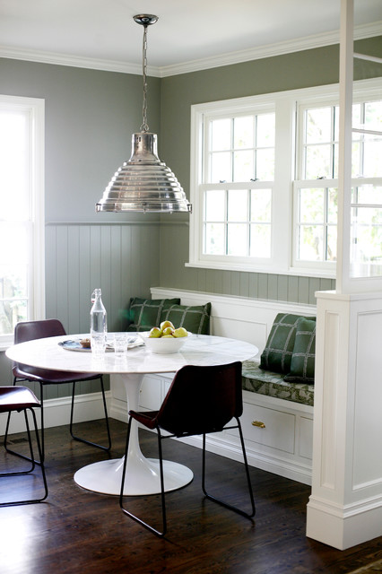 Inspiration for a transitional kitchen remodel in Seattle