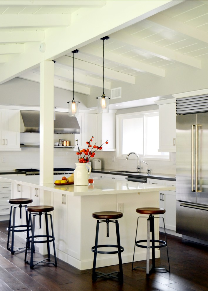Cottage Kitchen Remodel Long Beach Ca Midcentury Kitchen Los Angeles By Morey Remodeling Group