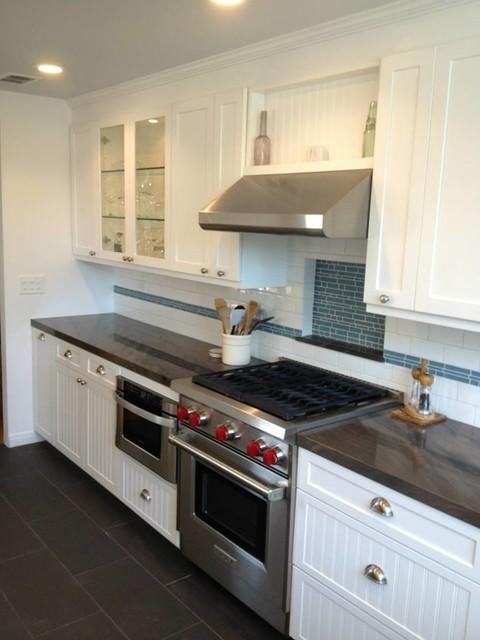 Cottage Kitchen Remodel Seal Beach Beach Style