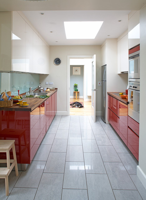 Cottage Renovation Contemporary Kitchen Dublin By Think Contemporary