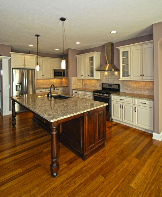 Cottages at Mudbrook Single Family Condominium traditional-kitchen