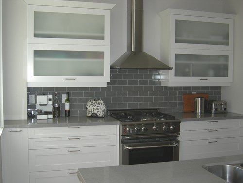 Perfect Who Makes The Gray Subway Tile And What Color Is It? Gorgeous!