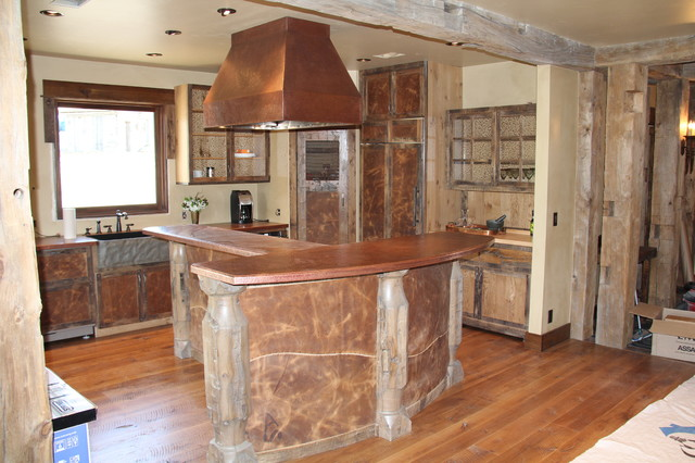 Cottonwood Rustic Kitchen Other By Zoske Construction