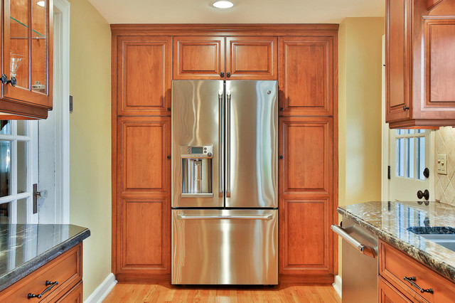 Counter-Depth Refrigerator Built In Pantry