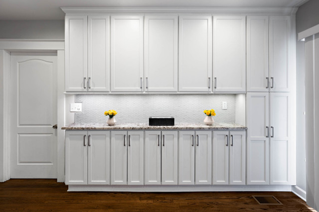Counter Top Space And Full Height Cabinets Transitional Kitchen Other By Marvista Design Build Houzz Uk