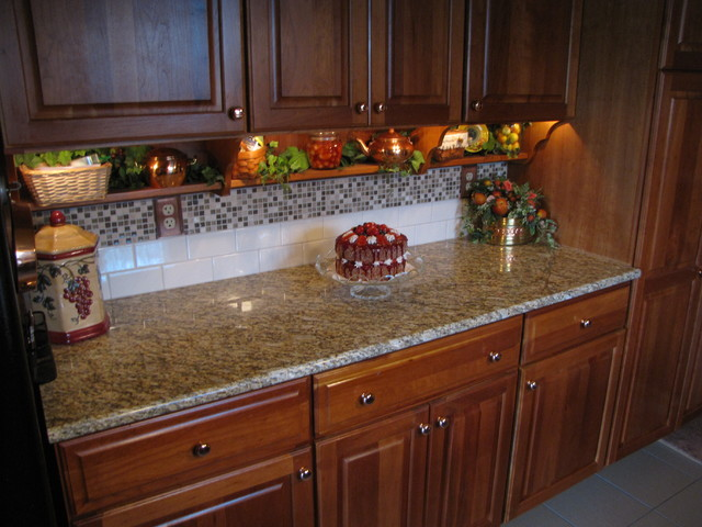 Countertop Backsplash Flooring Zannino Traditional