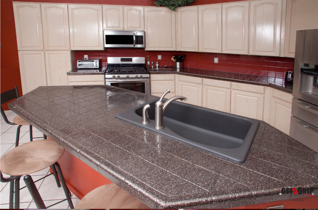 Countertop Resurfacing Materials : Countertop Resurfacing - Traditional - Kitchen - albuquerque - by Get ...