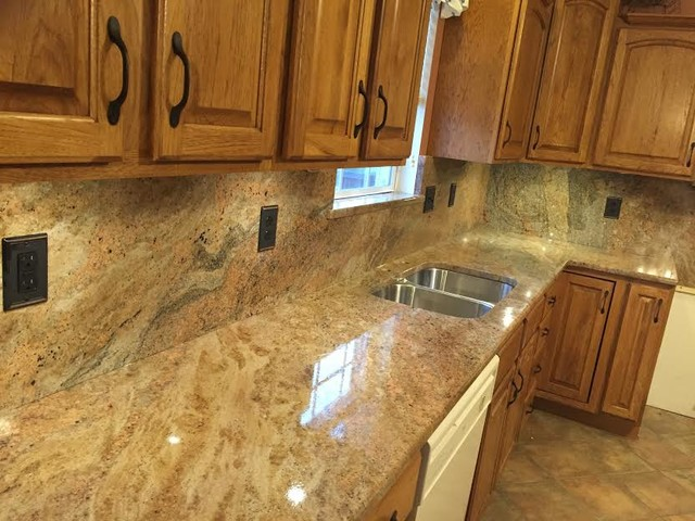 Rustic Kitchen With Granite Countertops : Countertops rustic kitchen philadelphia by asco