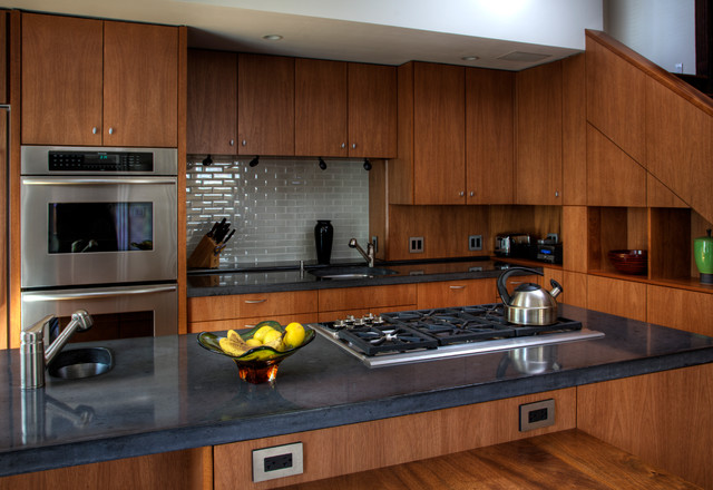 Countertops modern-kitchen