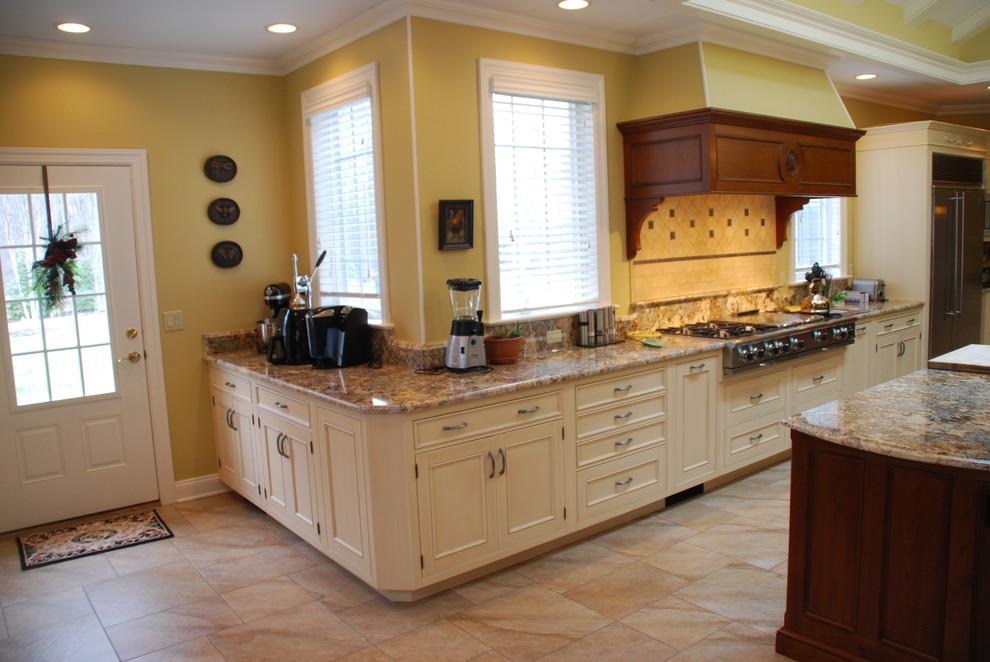 Country Chef Kitchen - Traditional - Kitchen - Bridgeport ...