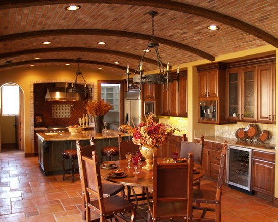 1 902 rustic tuscan decor kitchen design photos