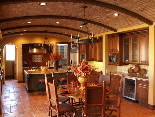 Do you have decorating tips for designing a Tuscan themed kitchen