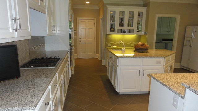 Country Club of the South Kitchen Facelift traditional-kitchen