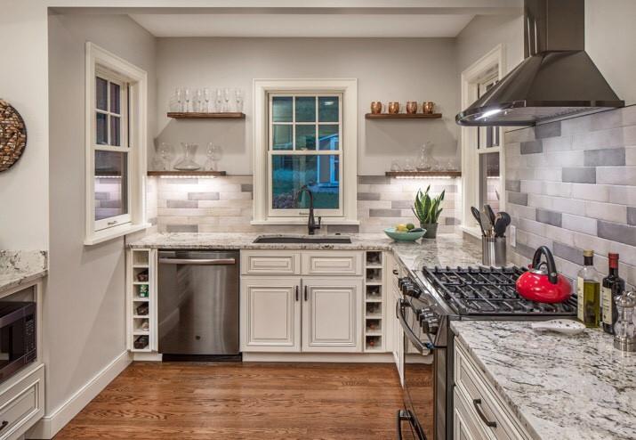 Country club Tudor kitchen