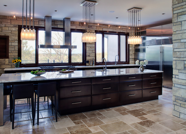 Country Contemporary Kitchen Contemporary Kitchen Chicago By Drury Design